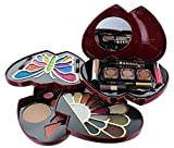 ETA Pink Double Heart Glamour Girl Makeup Color Kit BR