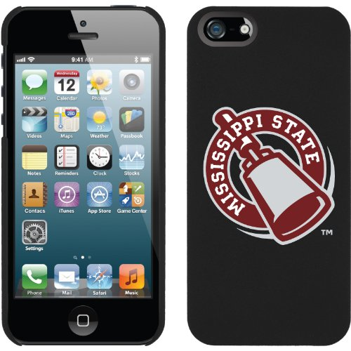 Special Sale Mississippi State design on a Black iPhone 5s / 5 Thinshield Snap-On Case by Coveroo