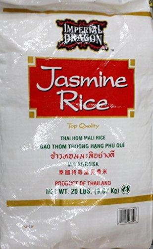 Imperial Dragon Jasmine Rice, 20-Pound (Dragon Rice compare prices)