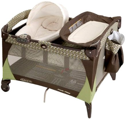 Graco Montreal Pack N Play With Newborn Napper Station