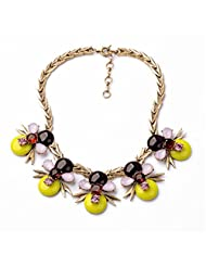 Fun Daisy New Design Jewelry Vintage Bees Retro Fashion Necklace - xl01048