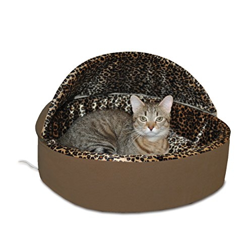 K&H Manufacturing Thermo-Kitty Bed Dlx Hooded