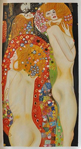 roya-art-water-serpents-ii-by-gustav-klimt-hand-painted-reproduction-oil-painting-on-canvas-for-home