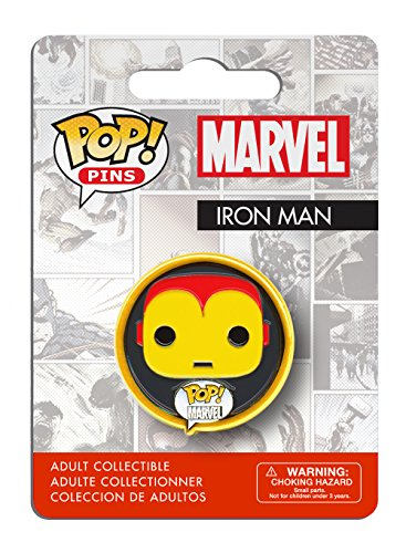 Funko - Pins Marvel - Iron Man Pop 3cm - 0849803072834