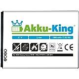 Akku-King Li-Ion Akku (1900mAh) für Samsung Galaxy Nexus GT-i9250 mit NFC