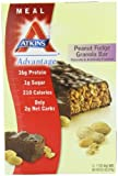 Atkins Advantage Bars, Peanut Fudge Granola, 1.7-Ounce Bars (Pack of 12)