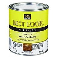 - W44N00803-44 Best Look Interior Wood Stain-WALNUT INT WOOD STAIN
