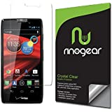 [3-Pack] RinoGear® - Motorola RAZR MAXX HD Screen Protector - Anti-Scratch, Anti-Fingerprint, Anti-Bubble, Ultra Invisible HD Clear Shield w/ Lifetime Replacements