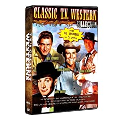 TV's Greatest Westerns: The Rifleman, Bat Masterson, The Lone Ranger, The Cisco Kid, Wagon Train, Bonanza, and more!