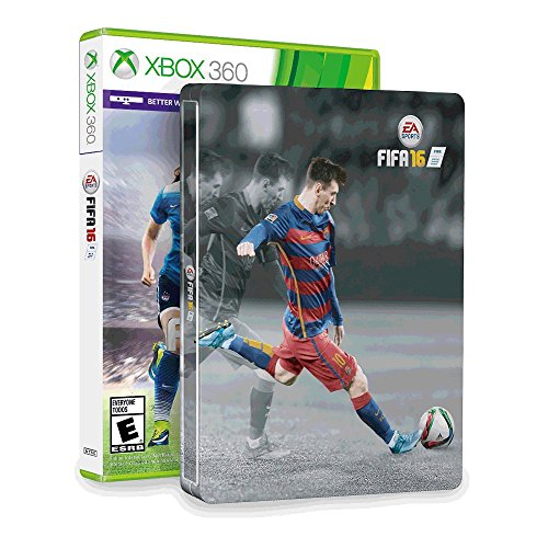 FIFA 16 & SteelBook (Amazon Exclusive) - Xbox 360  available at amazon for Rs.9649
