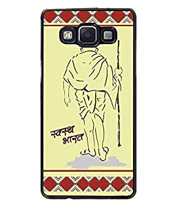 PrintDhaba Quote D-3814 Back Case Cover for SAMSUNG GALAXY A5 (Multi-Coloured)