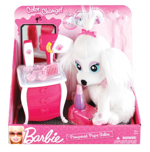 51VX0aSYMsL Buy  Barbie Puppy Pamper Paws Doggie Salon