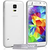 YouSave Accessories Coque en silicone pour Samsung Galaxy S5 Transparent