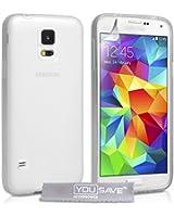 YouSave Accessories Coque en silicone pour Samsung Galaxy S5 Transparent