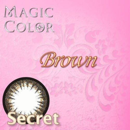 マジックカラー シークレットブラウン 2枚