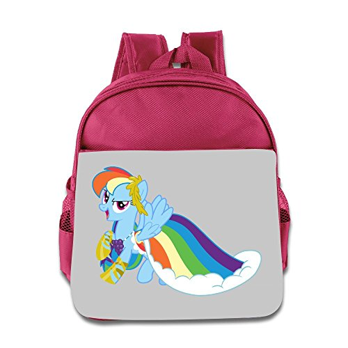 Toddler Kid Rainbow Dash Gala Dress My Little Pony Schoolbags Backpacks