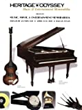 img - for Heritage Music, Movie & Entertainment Memorabilia Signature Auction, #612 book / textbook / text book