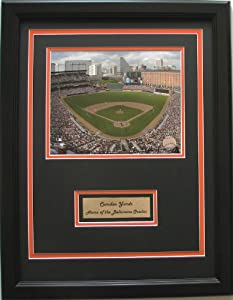 CGI Sports Memories Baltimore Orioles Camden Yards Photo with Double Mat by CGI Sports Memories