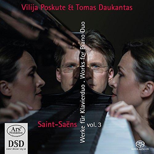 SACD : TOMAS DAUKANTAS - POSKUTE, VILIJA - Works For Piano Duo 3 (Hybrid SACD)