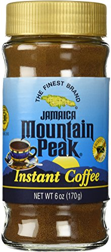 Jamaica Mountain Peak Instant Coffee 6 OZ (Peak Instant compare prices)