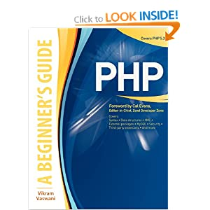 PHP: A BEGINNER&#39;S GUIDE (Beginner&#39;s Guides (McGraw-Hill))