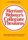 Websters Collegiate Thesaurus
