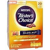 Nescafe Taster's Choice Hazelnut Instant Coffee Beverage - 20 CT