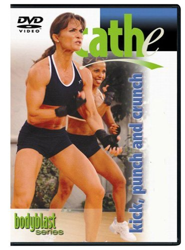 Cathe Friedrich'S Body Blast: Kick, Punch & Crunch And Legs & Glutes Dvd front-337581