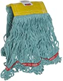 "Rubbermaid Web Foot Wet Mop, 5"" Headband, Green"