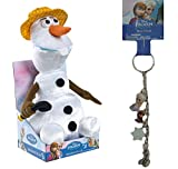 Disney Frozen Olaf - I Love Summer Singing Plush and Keychain