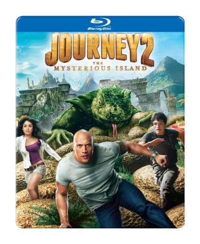 Journey 2: The Mysterious Island (SteelBook Packaging) [Blu-ray]