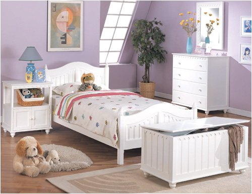 NEW FULL SIZE BEDROOM SET IN WHITE FINISH