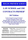 img - for Rigos Primer Series Law School and UBE Contracts Primer: 2017 Edition book / textbook / text book