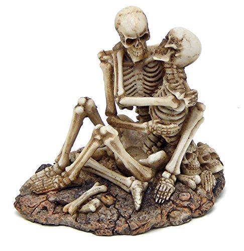 Skeleton Lovers Skulls Sexy Statues Adult Ceremony