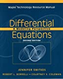 img - for Differential Equations, Maple Technology Resource Manual: A Modeling Perspective book / textbook / text book
