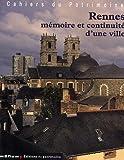 echange, troc Isabelle Barbedor, Philippe Bonnet, Elise Laurenceau, Jean-Jacques Rioult, Collectif - Rennes : Mémoire et continuité d'une ville (1Cédérom)