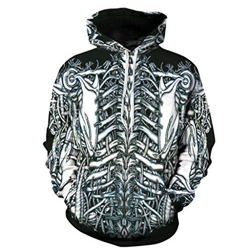 Skeleton Hoodie Sweatshirt
