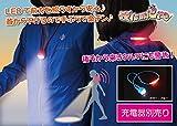 Amazon.co.jpLED2WAYナイトウォーキングネックライト 夜lumiere~ヨルミエール~ 充電用ACアダプター別売版 【ハンズフリー型懐中電灯、充電式】 全5色 (青)