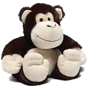 Intelex Cozy Plush Microwavable Warmer Monkey