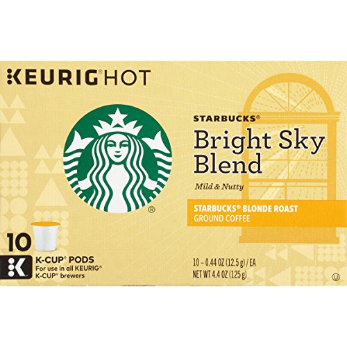 Starbucks Bright Sky Blend, K-Cup for Keurig Brewers, 60 Count (K Cups Starbucks Blonde compare prices)