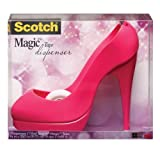 Scotch Shoe Dispenser with Magic Tape,  3/4 x 350 Inches (C30-SHOE-H)
