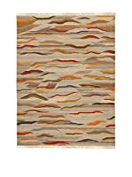 Kilim Carpets by Jalal Alfombra Kilim Paysage (Beige/Multicolor)