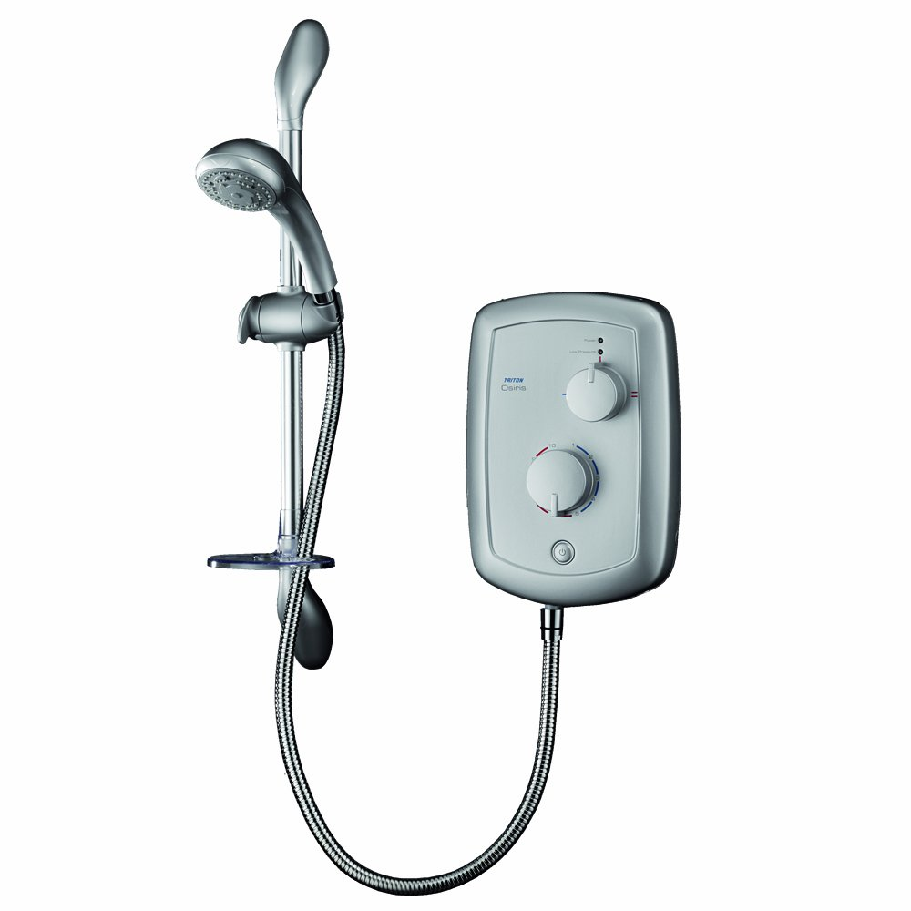 Triton Osiris 9.5kW Electric Shower   Satin       Customer review and more information