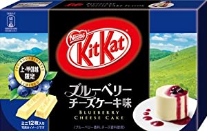 Japanese Kit Kat - Blueberry Cheese Cake Chocolate Box 5.2oz (12 Mini Bar)