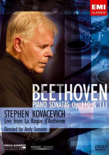 Stephen Kovacevich: Beethoven Piano Sonatas [DVD]