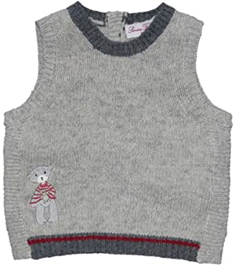Pomme Framboise Paris Mon Ami Knitted Vest, Knitwear, Boys, 6-9 months