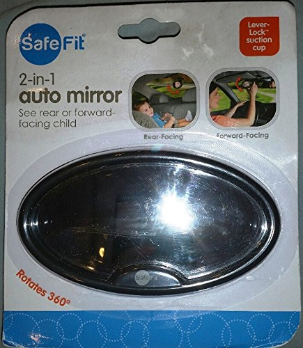 SafeFit 2-in-1 Baby Auto Mirror
