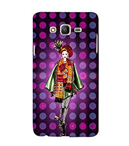 College Tinage Girl 3D Hard Polycarbonate Designer Back Case Cover for Samsung Galaxy On7 :: Samsung Galaxy On 7 G600FY