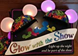 Disney Parks Glow With The Show World of Color Mickey Mouse Ears Hat (Comes Sealed) - Disneyland/California Adventures Exclusive & Limited Availability (One Mickey Hat Per Order)