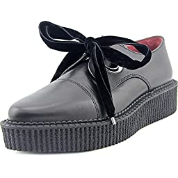 Marc by Marc Jacobs Women\'s Kent Creeper Lace Up Oxford, Black, 38.5 EU/8.5 M US